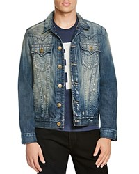 True Religion Jimmy Denim Jacket Cqkm Rough