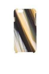 Rick Owens Rodhoid Iphone Case In Abstract Yellow Black