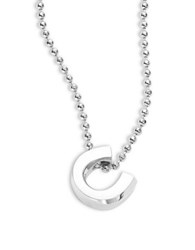 Alex Woo Little Luck Sterling Silver Horseshoe Necklace