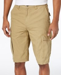 Lrg Men's Cargo Shorts Dark Khaki