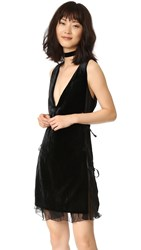 Dsquared V Neck Dress Black