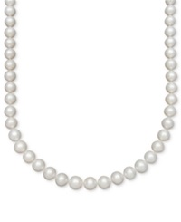 Belle De Mer Pearl Necklace 14K Gold Aaa Cultured Freshwater Pearl Strand 8 1 2 9 1 2Mm Black