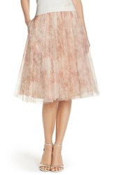 Women's Jenny Yoo 'Lucy' Print Tulle Skirt