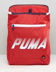 Puma Sole Backpack Entry In Red 7433202 Red