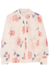 Paul And Joe Parafe Printed Cotton And Silk Blend Voile Shirt