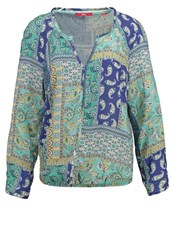 S.Oliver Blouse Emerald Green Mint