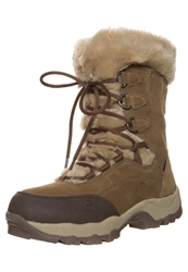 Hi Tec Hitec St Moritz 200 Wp Ii Winter Boots Brown Cream