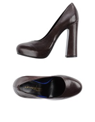 Latitude Femme Pumps Dark Brown