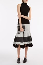 Proenza Schouler Long Knit Skirt 10121