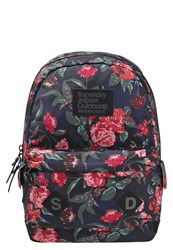 Superdry Savannah Montana Rucksack Elizabeth Rose Berry Multicoloured