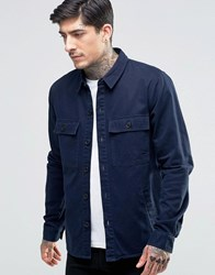 Another Influence Chest Pocket Shirt Navy