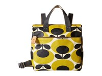 Orla Kiely Small Backpack Mustard Backpack Bags Yellow