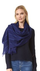 M.Patmos Wallace Scarf Navy