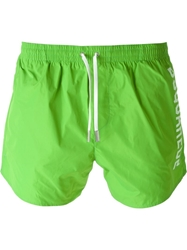 Dsquared2 Logo Swim Shorts Green