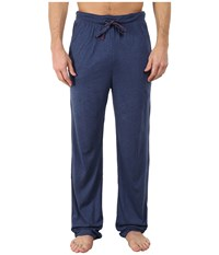 Tommy Bahama Heather Cotton Modal Jersey Knit Pants Indigo Heather Men's Pajama Blue