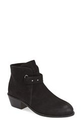Cynthia Vincent 'Humor' Bootie Women Black Leather