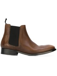 Paul Smith Ps By 'Lydon' Chelsea Boots Brown