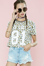Forever 21 Chic Animal Print Tee