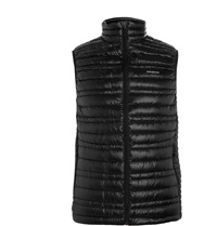 Patagonia Water Repellent Down Quilted Lightweight Shell Gilet Black