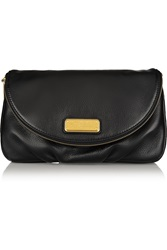 Marc By Marc Jacobs Classic Q Natasha Textured Leather Clutch