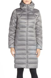 Women's Patagonia 'Downtown Loft' Down Puffer Parka Feather Grey