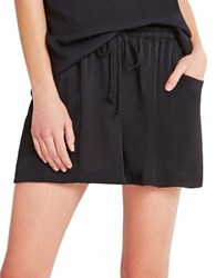 Bcbgeneration Drape Gathered Shorts Black