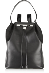 The Row Large Leather Backpack