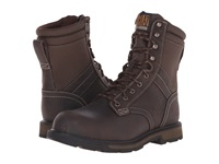 Ariat Groundbreaker 8 H2o Steel Toe Dark Brown Dark Olive Cordura Men's Work Boots