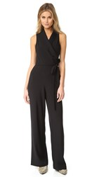 Cupcakes And Cashmere Margo Wide Leg Jumpsuit Black