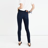 Madewell 10 High Rise Skinny Jeans In Hayes Wash