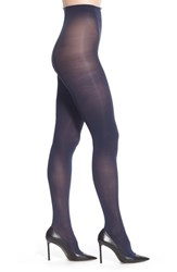 Halogenr Plus Size Women's Halogen Opaque Control Top Tights Navy Iris