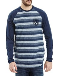 Bench Bachelor Striped Tee Total Eclipse