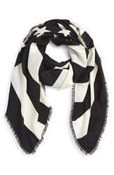 Women's Givenchy 'American Flag' Wool And Silk Scarf