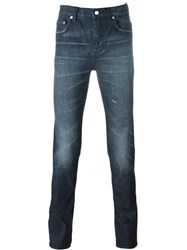 Blk Dnm Slim Fit Jeans Blue