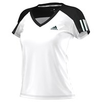 Adidas Tennis Club T Shirt White Black