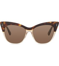 Erdem Edm22 Cat Eye Sunglasses Tortoiseshell