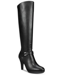 Alfani Viollah Tall Boots Only At Macy's Women's Shoes Black