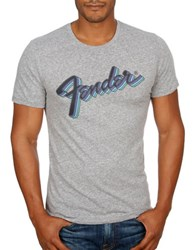 Lucky Brand Fender Retro Graphic Tee Quiet Shade