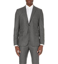 J. Lindeberg Donnie Wool Jacket Grey Melange