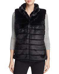 Sioni Faux Fur Vest Black