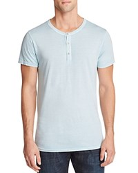 Sol Angeles Essentials Henley Tee Blue Pool
