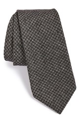 Men's Todd Snyder White Label Houndstooth Cotton Tie