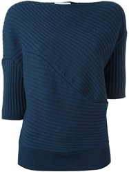 J.W.Anderson Ribbed Jumper Blue