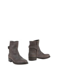 Liviana Conti Ankle Boots Dark Brown