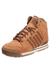K Swiss Kswiss Si18 Premier Casual Laceups Cognac Bison Antique Brass Brown