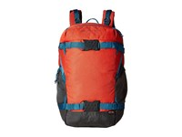Burton Rider S Pack 23L Coral Ripstop Backpack Bags Blue