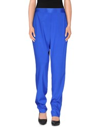 Dkny Trousers Casual Trousers Women Blue