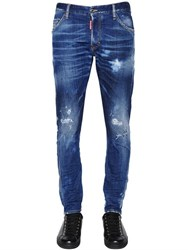 Dsquared 16Cm Sexy Twist Stretch Denim Jeans