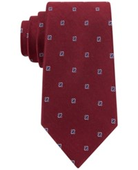 Club Room Fine Open Neat Tie Only At Macy's Red