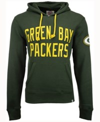 47 Brand '47 Men's Green Bay Packers Crosscheck Hoodie